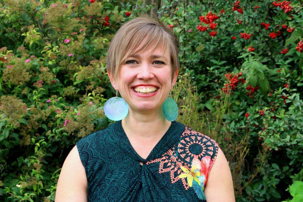Christine Hesse im Portrait